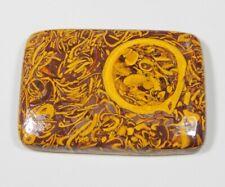 82 Ct Natural Rare Designer Arabic Mariam Jasper Octagon Cabochon Gemstone A455