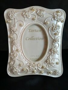 """Beautiful resin Photo Frame with pearl decoration 2.5""""x3.5"""" UK sell only"""