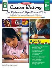 Cursive Writing for Right- & Left- Handed Kids, Grades 3 -