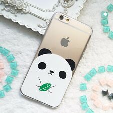 Panda phone case iPhone 11 pro max 8 7 7+ 6 6s Galaxy S10 S9 plus S8  Note 9 10