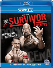 WWE Survivor Series 2011 BLU-RAY