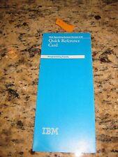 Vintage IBM Disk operating System V 3.30 Card 80X0683  #1