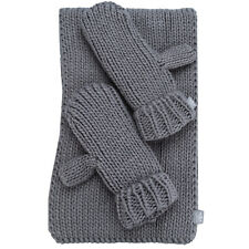 adidas Originals Womens Gloves and Scarf Set in Grey - One Size