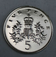 POLISHED 5P OLD STYLE PERFECT BIRTHDAY PRESENT CHOICE OF DATE 1968-1989