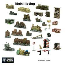 Battlefield Debris, Bolt Action, Scatter terrain, Scenery, Warlord Games