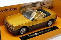 NewRay 1/43 Scale Model Car NR519 - 1992 Mercedes Benz 600SL - Metallic Yellow