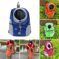 KQ_ Pet Puppy Dog Mesh Sling Carry Pack Backpack Carrier Travel Tote Shoulder Ba