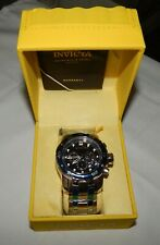 Invicta Pro Diver 49mm Chronograph Blue Dial Stainless Men's Watch NEW 0070