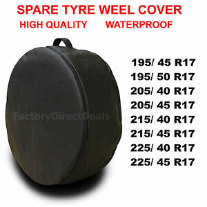 """R17""""  SPARE TYRE COVER WHEEL PROTECTIVE TYRE BAG SPACE SAVER FOR ANY CAR"""