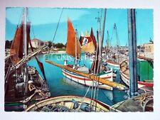 CAORLE (?) BARCHE A VELA pescatori Venezia vecchia cartolina 1