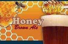 Brewers Best Honey Brown Ale Brewing Kit, Beer Making Kit, Beer Ingredient Kit