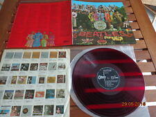 """THE BEATLES """"SGT. PEPPERS LONELY HEARTS CLUB BAND"""" - LP JAPAN + INSERTS - OP8163"""