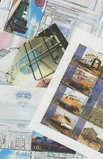 Belgium Train & Rail Postal Stamps