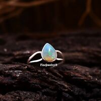 Ethiopian Opal Ring 925 Sterling Silver Band Ring Beautiful Handmade Ring A228