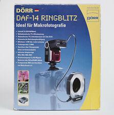 DÖRR DAF-14 Ringblitz für Nikon