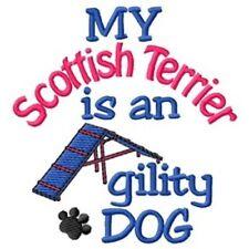 My Scottish Terrier is An Agility Dog Fleece Jacket - Dc1974L Size S - Xxl