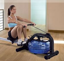 NEW First Degree Fitness Neptune Challenge AR Fluid Home Rower w/ Monitor