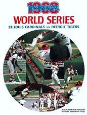 1968 World Series Program Photo Tigers Vs Cardinals Tigers Win 4 3 8 x10