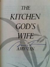 Amy Tan, KITCHEN GOD'S WIFE *SIGNED & INSCRIBED* 1991 HBDJ 1ST/later prt. New