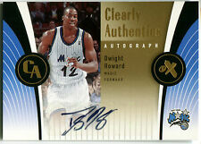 2006-07 E-X Clearly Authentics DWIGHT HOWARD Auto Extremely Rare SP Rockets #4/5