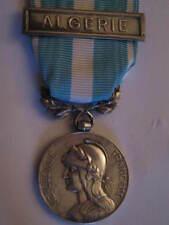 Francia medaglia coloniale in argento barretta ALGERIA