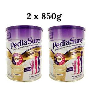 2x PediaSure Balanced Nutritional Powder Flavour 850g - Vanilla