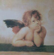 Engel, Bild Putte Engelchen Amor Liebe 30x30cm Wandbild, original eingeschweißt
