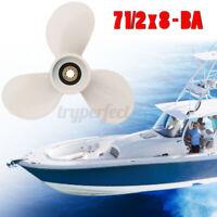 7-1/2 x 8 Aluminium Motor Propeller für Yamaha Außenborder 4-6PS 6E0-45941-01-EL