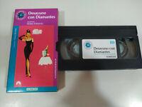 DESAYUNO CON DIAMANTES AUDREY HEPBURN - VHS Cinta Español - 2T