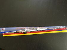 "APC Chrome Euro Blades 21"" Windshield Wiper Replacement Stealth Red Blue Yellow"