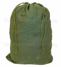US Army BARRACKS BAG Large Laundry Bag OD 100% Cotton USGI Military Surplus VGC