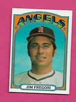 1972 TOPPS # 115 ANGELS JIM FREGOSI  NRMT-MT  CARD (INV# A8548)