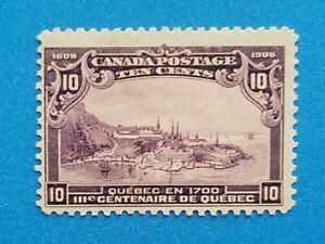 Canada Scott #101 MH well centered good original gum. Good colors, perfs.