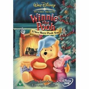 WINNIE THE POOH A Very Merry Pooh Year (Region 4) DVD Christmas Xmas