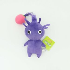 Purple Pikmin with Bulb Plush Toy 20cm Tall OFFICIAL SANEI