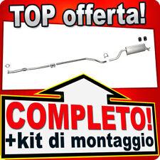 Scarico Completo FIAT PUNTO / GRANDE PUNTO Anche ABARTH (199) 1.4 Marmitta 734