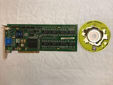 Number Nine Imagine 128 Series II 8MB H-VRAM PCI Graphics Video Card Retro PC