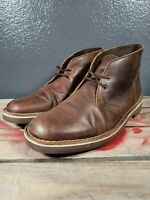 CLARKS BUSHACRE 2 CHUKKA BOOT BROWN 26034136 DESERT LEATHER BOSTONIAN SZ 11