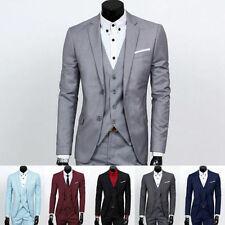 Unbranded Polyester Three Button Suits & Tailoring for Men
