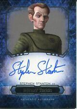 Star Wars Masterwork 2016 Autograph Card Stephen Stanton As Wilhuff Tarkin