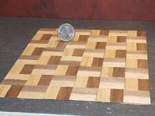 Dollhouse Miniature Parquet Wood Flooring Floor A 1:12 scale F37 Dollys Gallery