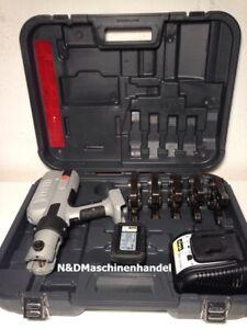 Viega Akku Pressgun 5 Pressmaschine mit 5 Pressbacken Presszange Presse Rechnung