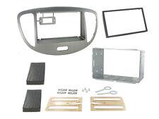 CT23HY25 Hyundai i10 2011-2014 Double Din Stereo Facia Kit SILVER