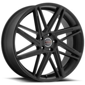 """Milanni 9062 Blitz 22x9 5x115 +20mm Satin Black Wheel Rim 22"""" Inch"""