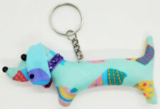 Doll Pattern Keyring Dog Animal Lover Scotch Sewing Charm Cute Fabric