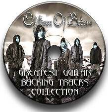 49 x CHILDREN OF BODOM DEATH METAL STYLE ROCK GUITAR MP3 BACKING TRACKS CD