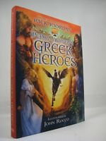 Percy Jackson's Greek Heroes by Rick Riordan (2015, Hardcover, Illustrated) New