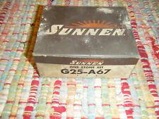 New Sunnen Stone Set G25 A 6 7 280 Grit Aluminum Oxide Portable Hone