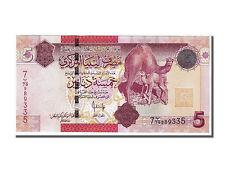 [#106169] Libye, 5 Dinars type 2008