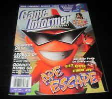 Vintage Game Informer Magazine Nintendo PS Nes Sega video games 1999 issue 75